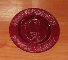 1960's RED HACKLE SCOTCH WHISKY ASHTRAY.