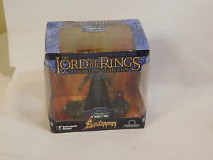 Lord of the Rings Tradeable Miniatures Game Sabretooth Games Sauron Combat Hex