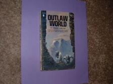 Outlaw World Captain Future Edmond Hamilton  Frazetta Cover  VG+  Free Shipping