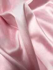 """PLAIN FAUX DUPION RAW SILK 100% POLYESTER FABRIC FREE P&P 57"""" WIDE"""