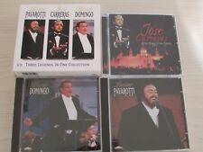 Pavarotti Carreras Domingo Three Legends in one Collection 3 CD box set