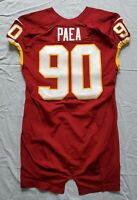 #90 Stephen Paea of Washington Redskins Game Issued Lightly Worn Jersey