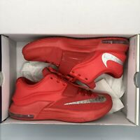 2014 Nike KEVIN DURANT KD VII 7 GLOBAL GAME ACTION RED SILVER 653996-660 SZ 10