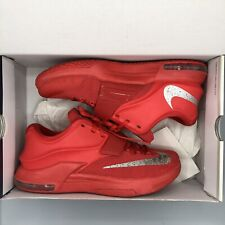 huge selection of 2cf8b 82726 2014 Nike KEVIN DURANT KD VII 7 GLOBAL GAME ACTION RED SILVER 653996-660 SZ