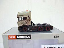 1:50 WSI /  SCANIA STREAMLINE TOPLINE 6x2 TWIN STEER DE WAARD M BOX