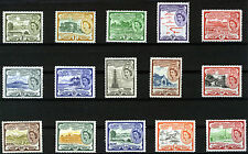 ST CHRISTOPHER NEVIS ANGUILLA 1954-1963 DEFINITIVES SG106a/118 MNH