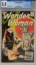 WONDER WOMAN #99 CGC 3.5 ORIGIN OF DIANA PRINCE