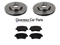 FOR NISSAN MICRA K12 1.0 1.2 1.4 1.5 FRONT BRAKE DISCS AND PADS 2003 TO 2011