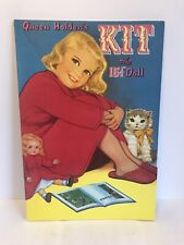 Vintage Queen Holdens Kit The 15 1/2 Inch Doll Paper Doll Book Magazine Toy Rare