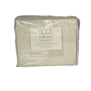 Hotel Collection Twin Sheet Ensemble Bed Set 100% Luxury Cotton Flannel Ivory
