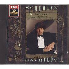 SCHUMANN: Piano Music by Andrei Gavrilov - CD EMI 1989 USATO OTTIME CONDIZIONI