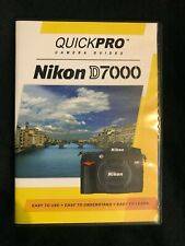 New listing Nikon D7000 Instructional Dvd by QuickPro Camera Guides (New)