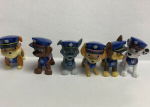 Spin Master Paw Patrol Ultimate Rescue Police Pup figures HTF Rubble Skye & More