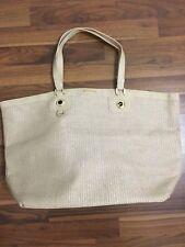 Versace Women Beige/Gold Tote  Bag NEW