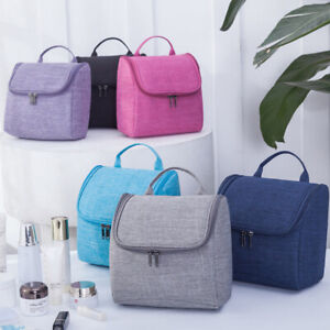 Large Wash Bag Toiletry handbag Hanging Travel Case Cosmetic Make Up Pouch Kit