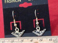 "Harley Davidson Hook ""H- D Wings""Earrings Gold-HD04G-DE"