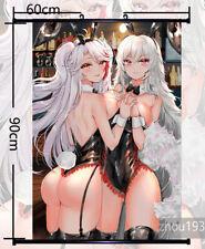 Anime Azur Lane Graf Zeppelin Wall Scroll Poster Home Decor Gift 60*90CM#0115