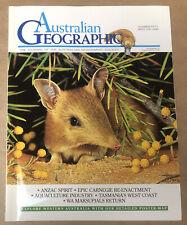 Australian Geographic Magazine Apr - Jun 1998 No. 50 In Good Condition