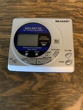Sharp Md-Mt15 Minidisc Player Parts Only.