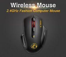 2.4G Wireless Mouse Wifi Dongle Optical Ergonomic Noiseless Computer Laptop Mice
