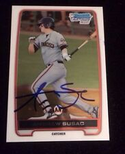 ANDREW SUSAC 2012 TOPPS CHROME BOWMAN Autographed Signed AUTO Card BCP97