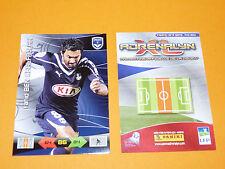 BEN KHALFALLAH GIRONDINS BORDEAUX  FOOTBALL FOOT ADRENALYN CARD PANINI 2010-2011