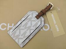 MICHAEL KORS Luggage Tag JET SET TRAVEL Vanilla Holiday Secure ID Tags RRP£45