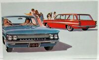 1961 Oldsmobile F-85 DeLuxe 4-Door Sedan and Station Wagon Postcard