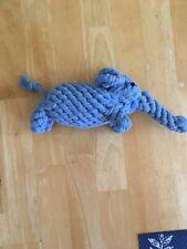 New Rope Dog Toy Small/Medium multiple available Elephant bunny teddybear