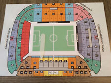 5X Tickets VFB Stuttgart -TSG 1899 Hoffenheim Haupttribüne Block 12 DERBY