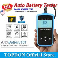 TOPDON ArtiBattery 101 Car Battery Tester Crank Charging System Auto Analyzer