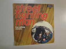 """ROLLING STONES:Street Fighting Man 3:16-No Expectations 3:56-Italy 7"""" Decca PSL"""