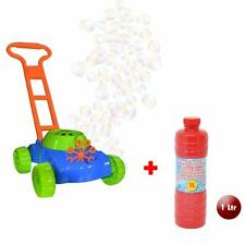 Seifenblasen Rasenmäher Maschine Kinder Spielzeug Garten Auto-blase Geschenk NEU