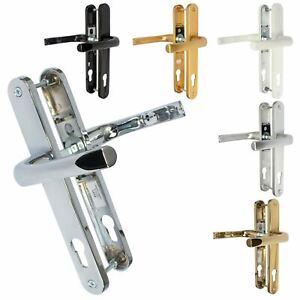 Mila Prolinea 92PZ Sprung 240mm UPVC Door Handle Lever Pair 211mm Screw Centres