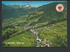 GRINS << Luftaufn., Ort m. Parseier....Umgebung...>> col AK