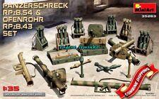 Miniart 35263 Panzerschreck RPzB.54 & Ofenrohr RPzB.43 Plastic Model Kit 1/35