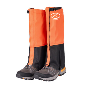 Outdoor Hiking Boots Cover Gaiters Waterproof Leg Protection Snake Snow Legging