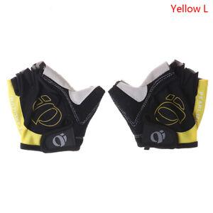 Sports Bike Bicycle Cycling Gloves Half Finger Gel Pad Road Racing Men Wo 0H