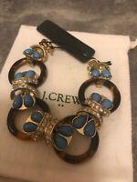 J Crew Bracelet Tortise Rings Butterfly Bracelet