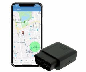 Nrpfell Car OBD GPS Tracker Plug and Car Tracker OBD GPS Tracker Car Tracker Localizador en Tiempo Real con Sos Alarm Geo-Fence Aplicaci/óN Gratuita