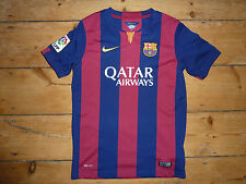Âge 10/12 an BARCELONA FOOTBALL SHIRT HOME Soccer Jersey Camiseta Maillot maglla