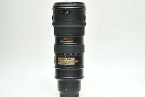 Nikon 70-200mm f/2.8G ED-IF AF-S VR Zoom Nikkor Lens SN276541