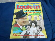 #12 MARCH 19 1977 LOOK IN tv movie magazine BENNY HILL - BIONIC WOMAN SPACE 1999
