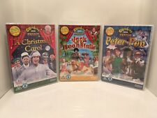 CBeebies Panto 3 DVD Set: Peter Pan, Jack and The Beanstalk, A Christmas Carol