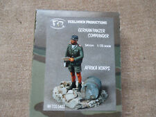 Verlinden 54mm scale German Panzer Commander Afrika Korps
