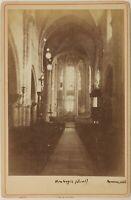Montargis Eglise Interno Francia Foto PL53Cn6 Vintage Albumina c1880