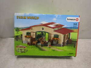 Schleich Farm World Horse Stable Set - 42195