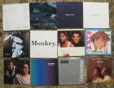 LOT of 12 GEORGE MICHAEL & WHAM! 45rpm Picture Sleeves (ONLY) NO 45s!!