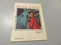 Cuaderno Escolar En Rayas No Escrito Mujeres de Italia Beatrice - Vintage