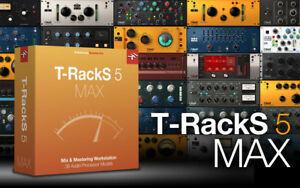 NEW IK Multimedia TRacks 5 Max Mix and Mastering Audio Workstation Suite